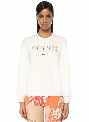 Emilio Pucci Sweatshirt Beyaz